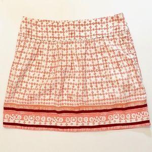 Ann Taylor LOFT Pleated Flare Skirt With Pockets